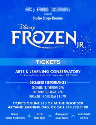 Arts & Learning Conservatory presents Frozen J...