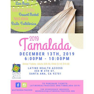 25th Annual TAMALADA @ Latino Health Access DTSA