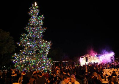 Capistrano Lights returns to Mission San Juan Capistrano