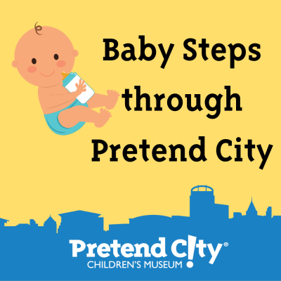 Baby Steps through Pretend City