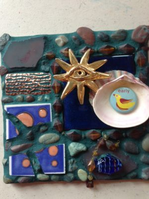 Mosaic Assemblage with Carolyn Machado
