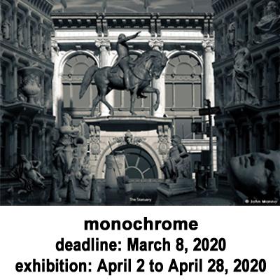 Call for Art - monochrome