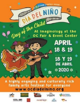 OC Día del Niño Festival Call for Youth Arts Workshops and Perofmers