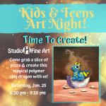 Kids And Teens Art Night