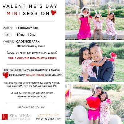 Valentine's Day Mini Photo Session