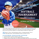 Make-A-Wish Softball Tournament
