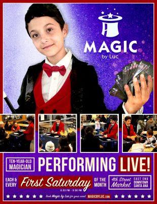 Magic by Luc @4th Street Market, DTSA