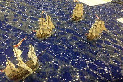 Miniature War Ship Battles @ Bowers Museum