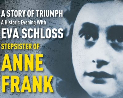 A Historic Evening with Anne Frank's Stepsister Ev...