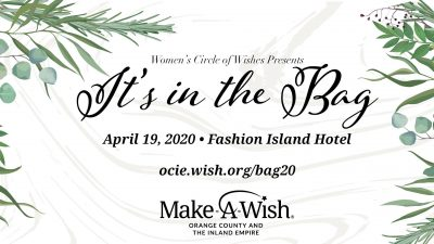 It's in the Bag @ Make-A-Wish Luncheon