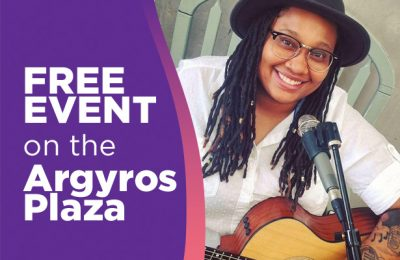 Live on Argyros Stage:  Devan M