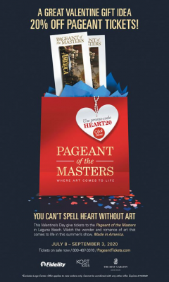 Sweet Deal on Pageant of the Masters in Laguna