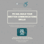 PR 360: Build Your Written Communications Skills