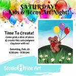 Kids & Teens Art Night @ Studio H