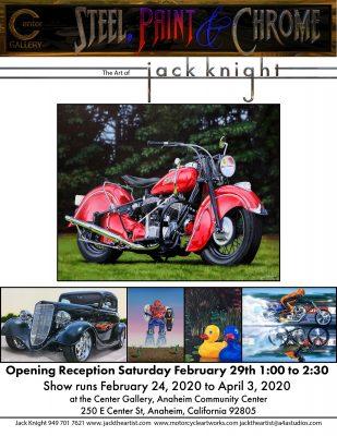 Jack Knight Art @ Anaheim Center Gallery