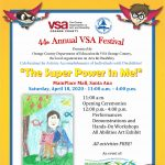 44th Annual VSA Festival @ Main Place Mall - NOW VIRTUAL