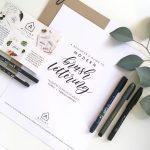 POSTPONED:  Beginners Brush Lettering