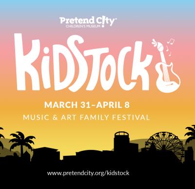 POSTPONED:  KIDSTOCK @ Pretend City