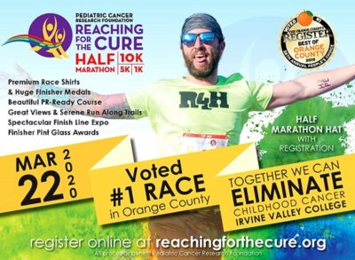 CANCELED:  22nd Annual Reaching for the Cure Half Marathon, 10K, 5K and 1K Kids Run