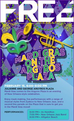 Let the Good Times Roll @ Argyros Plaza