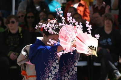 Japanese Cherry Blossom Festival @ the Bowers!