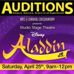 Auditions for Aladdin Jr - Students age 5-14
