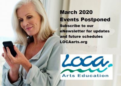POSTPONED:  Monthly Art Talks, downtown Laguna Beach - Paul Bond