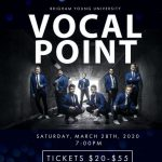 CANCELLED - BYU Vocal Point - Maximum Acapella!