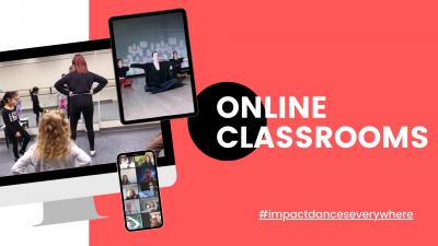 Impact Dance Center: Now Offering Online Classes