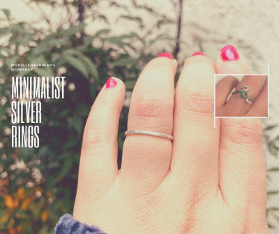 CANCELED - Minimalist Silver Rings