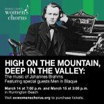 OC Women's Chorus sings Johannes Brahms with Men in Blaque--CANCELLED