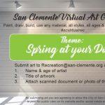 Virtual Art Gallery - City of San Clemente