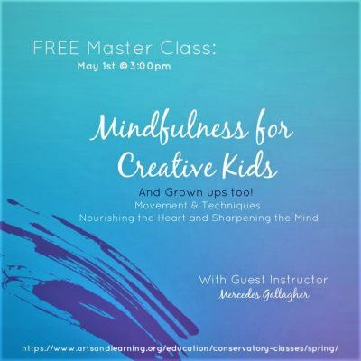 LIVE @ 3pm:  Mindfulness for Creative Kids!