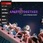 Live Stream!  Apart Together Music Fest