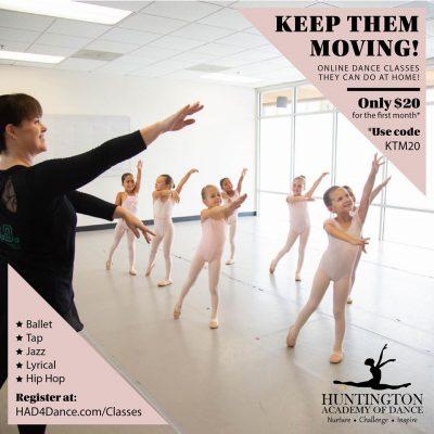 Preschool Ballet/Tap with Huntington Academy of Dance