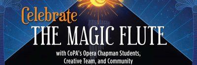LIVE STREAM:  Celebrate the Magic Flute!