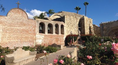 Virtual Walk Through Mission San Juan Capistrano and Visit to Serra Chapel