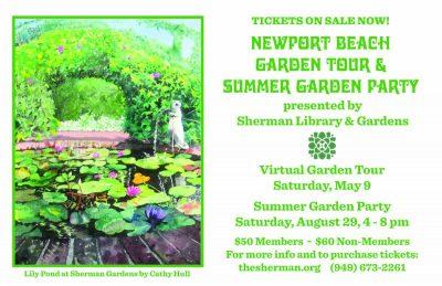 Virtual Garden Tour - Newport Beach