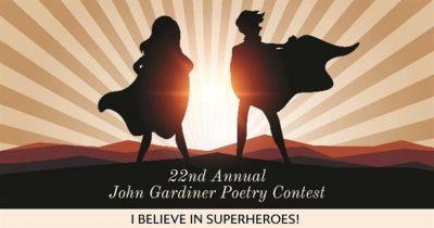 Poetry Contest:  Believe in Superheroes!