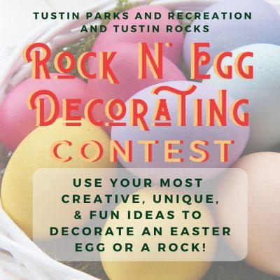 Rock'n'Egg Decorating Contest!