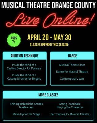 MTOC Live Online:  Dance Classes