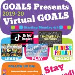 Kids:  Stay Active with Virtual GOALS