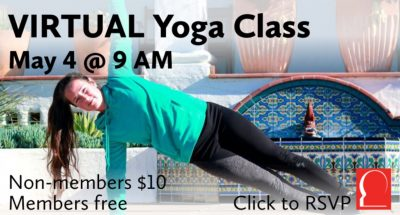 Casa Wellness: Virtual Yoga Class