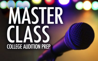Master Class: College Audition Prep