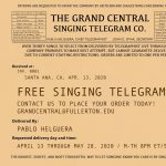 The Grand Central Singing Telegram Co.
