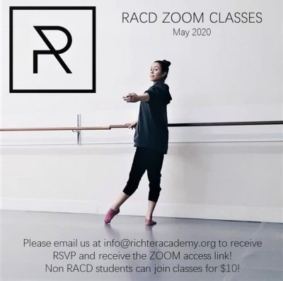 RACD:  Online Dance for May