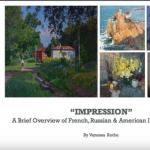 Digital Art Lecture: Impressionism