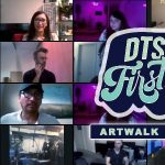 DTSA:  Live Stream Art Walk