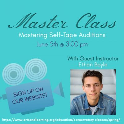 MasterClass:  Mastering the Self-Taped Audition