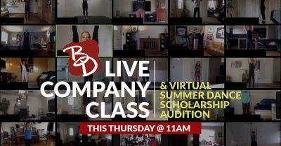 Backhausdance:  Summer Scholarship Audition